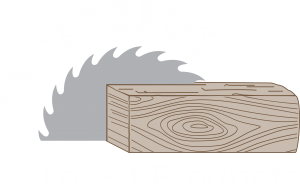 Stoltzfus Forest Products Reversed Logo